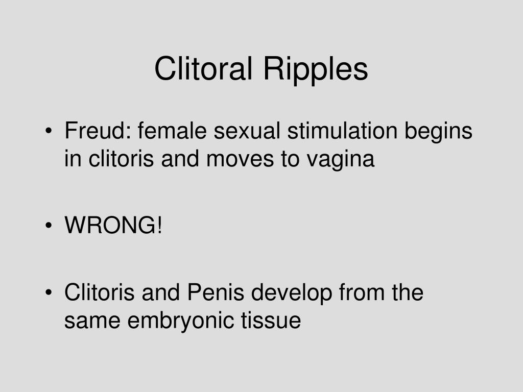 Clitoral Ripples