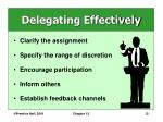 delegating effectively