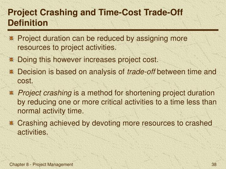 Critical Activity In Project Management