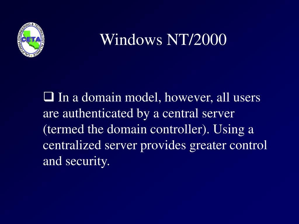 Windows NT/2000