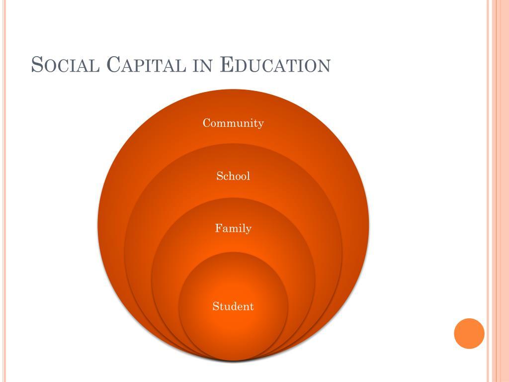 Social Capital in Education