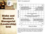 blake and mouton s managerial leadership grid9
