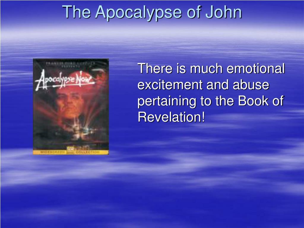 the apocalypse of john l.