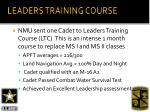 leaders training course