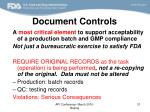 document controls