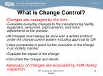 what is change control