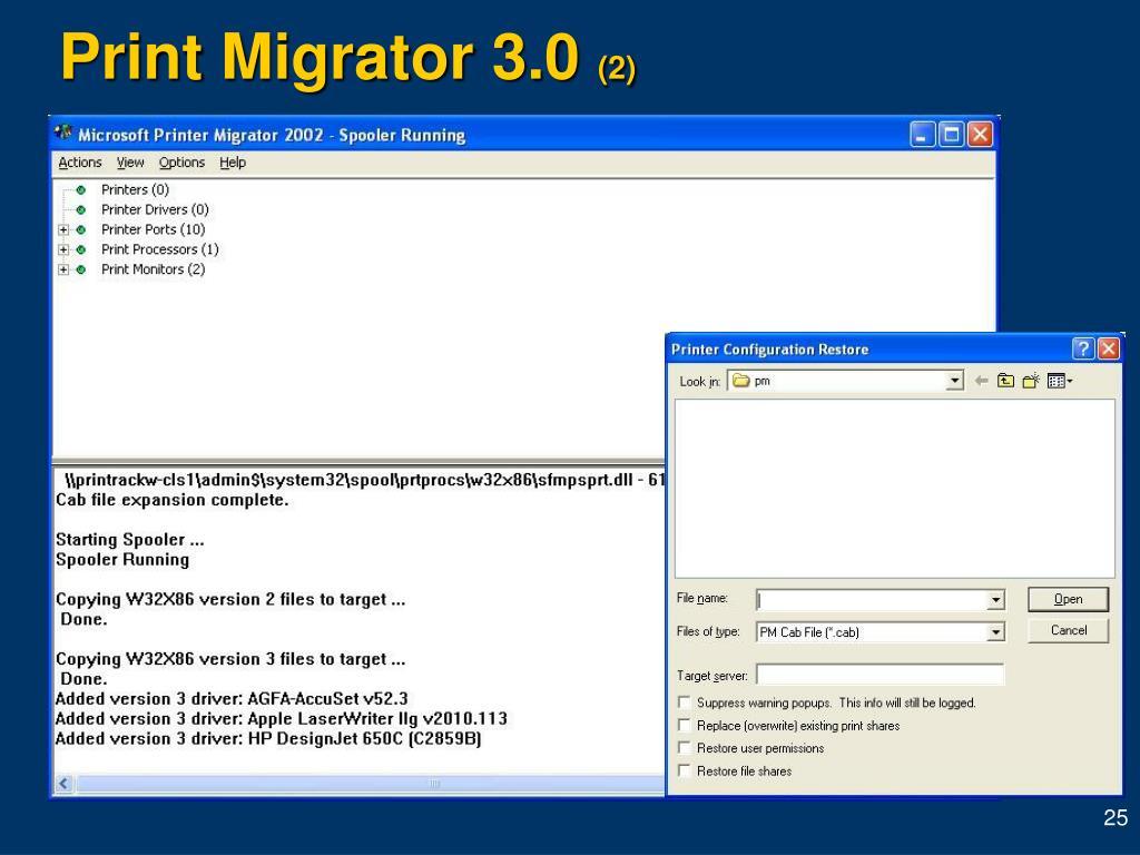 Print Migrator 3.0