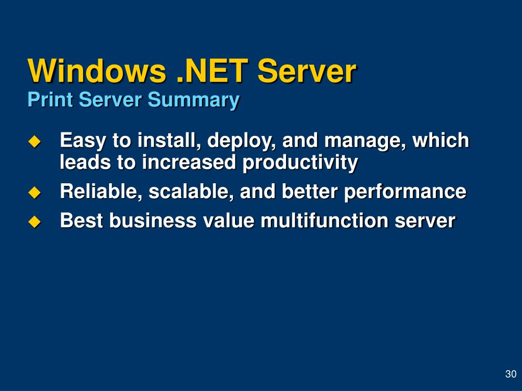 Windows .NET Server