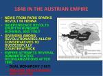 1848 in the austrian empire