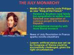 the july monarchy