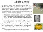tomato stories