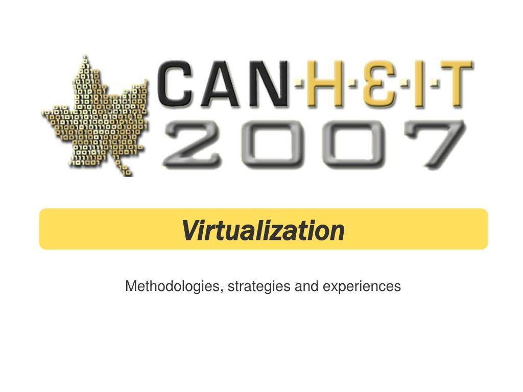 methodologies strategies and experiences l.