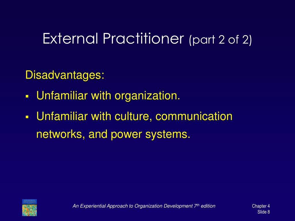 External Practitioner