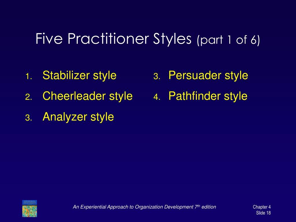 Stabilizer style