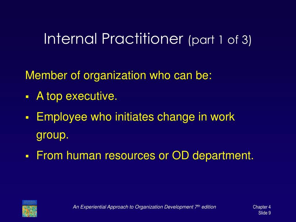 Internal Practitioner