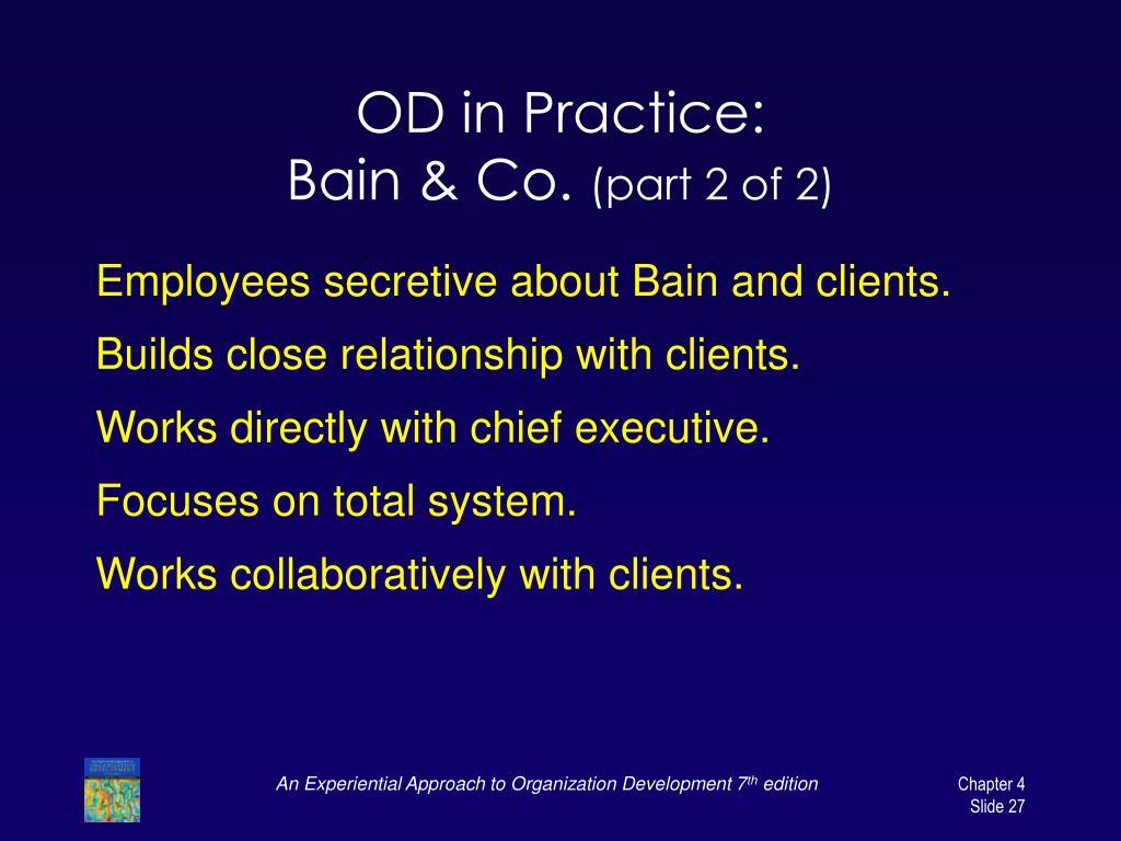 OD in Practice: