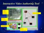 interactive video authoring tool