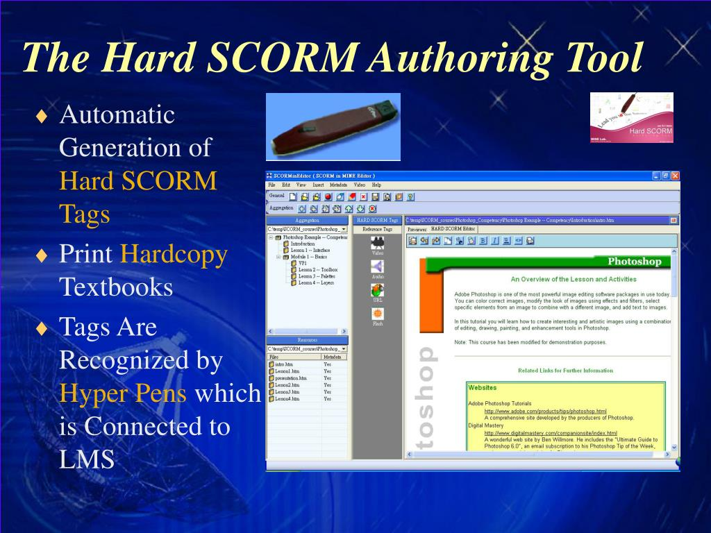 The Hard SCORM Authoring Tool