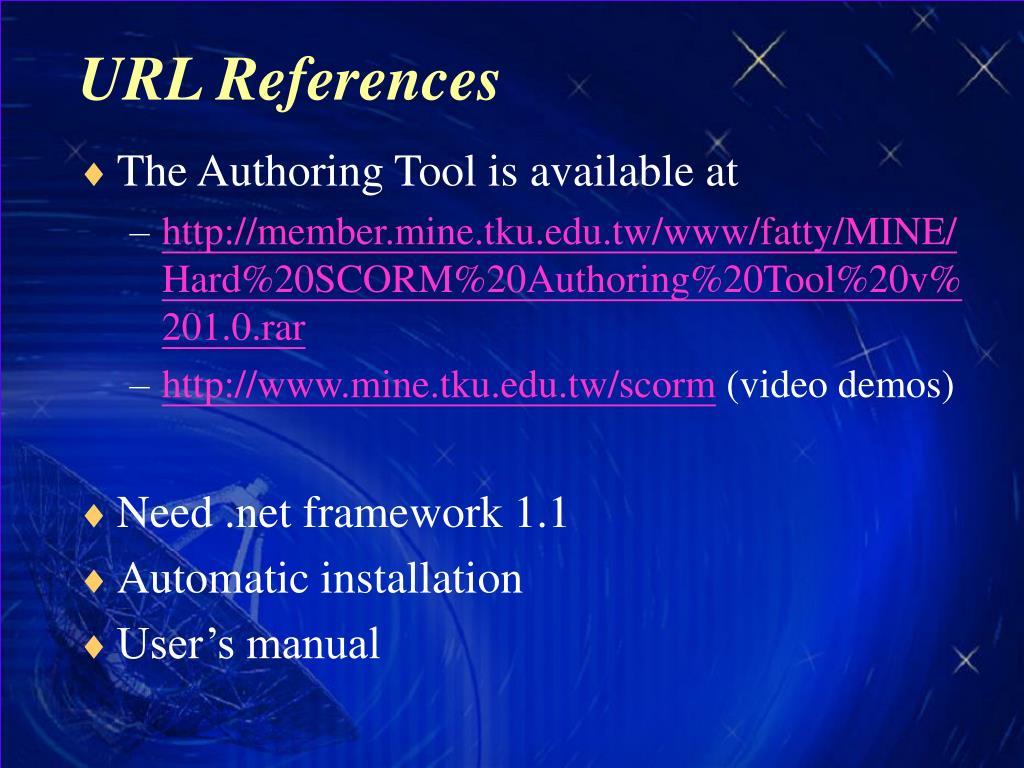 URL References
