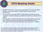 fdtd modeling details