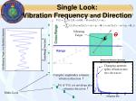 single look vibration frequency and direction