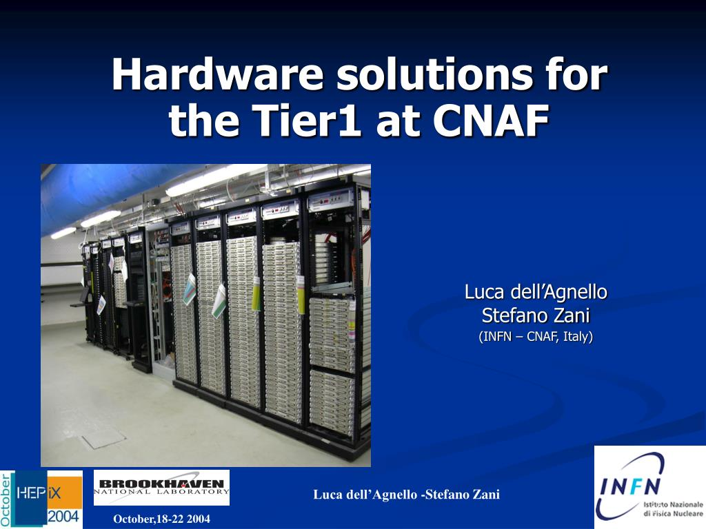 Hardware solutions for the Tier1 at CNAF