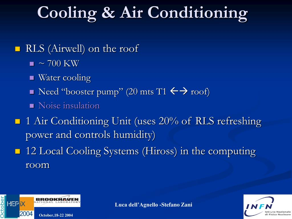 Cooling & Air Conditioning