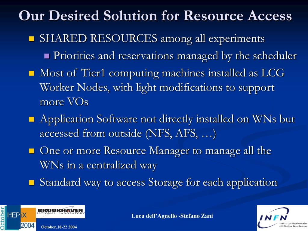 Our Desired Solution for Resource Access