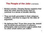 the people of the joke continued