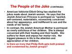 the people of the joke continued22
