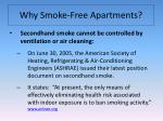why smoke free apartments5