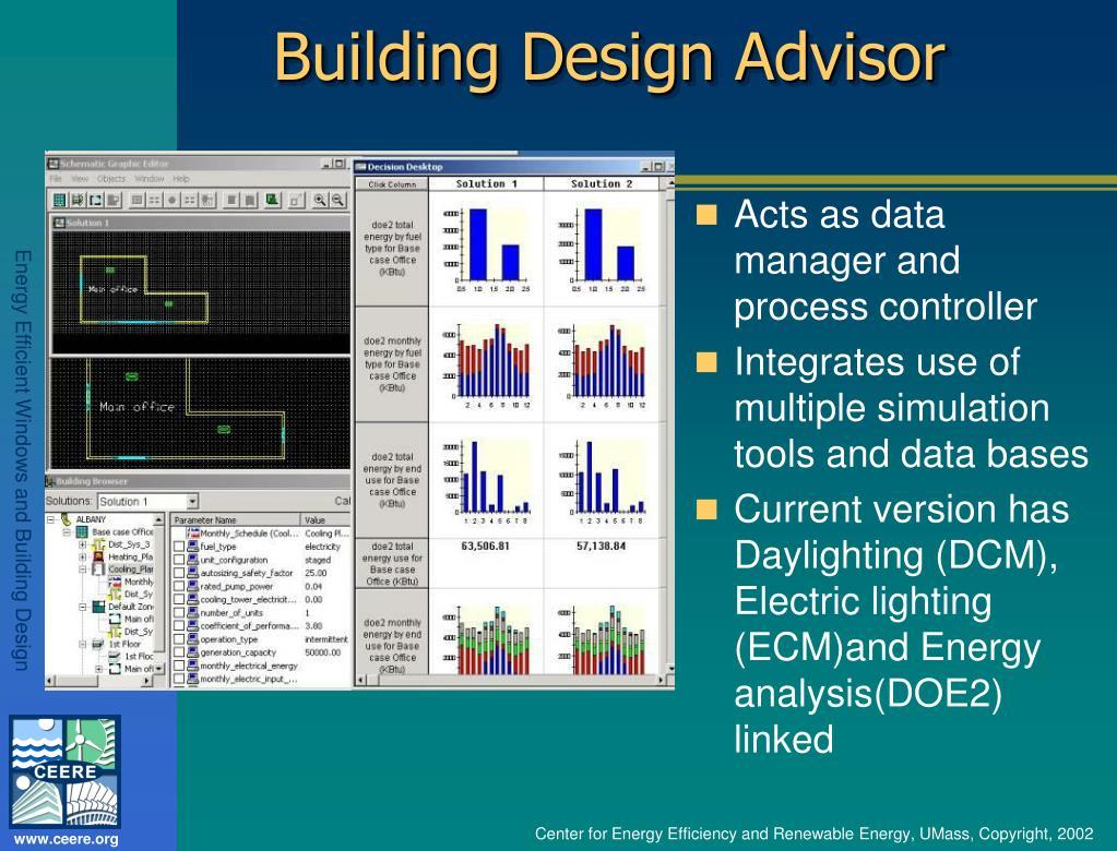 Building Design Advisor