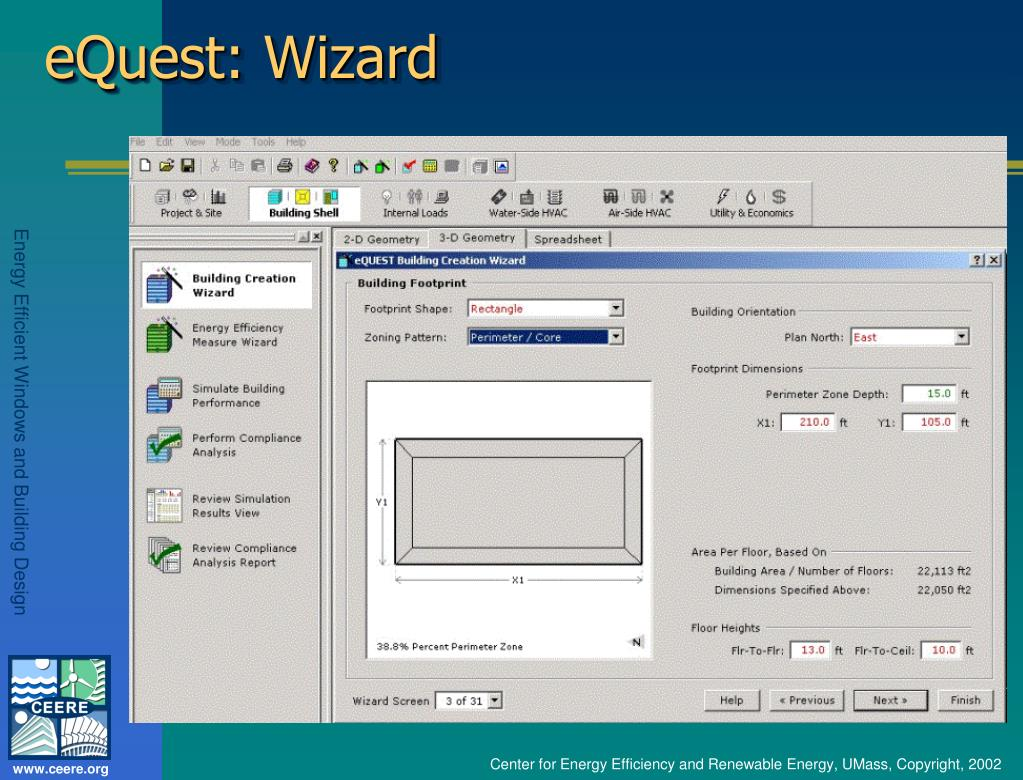 eQuest: Wizard
