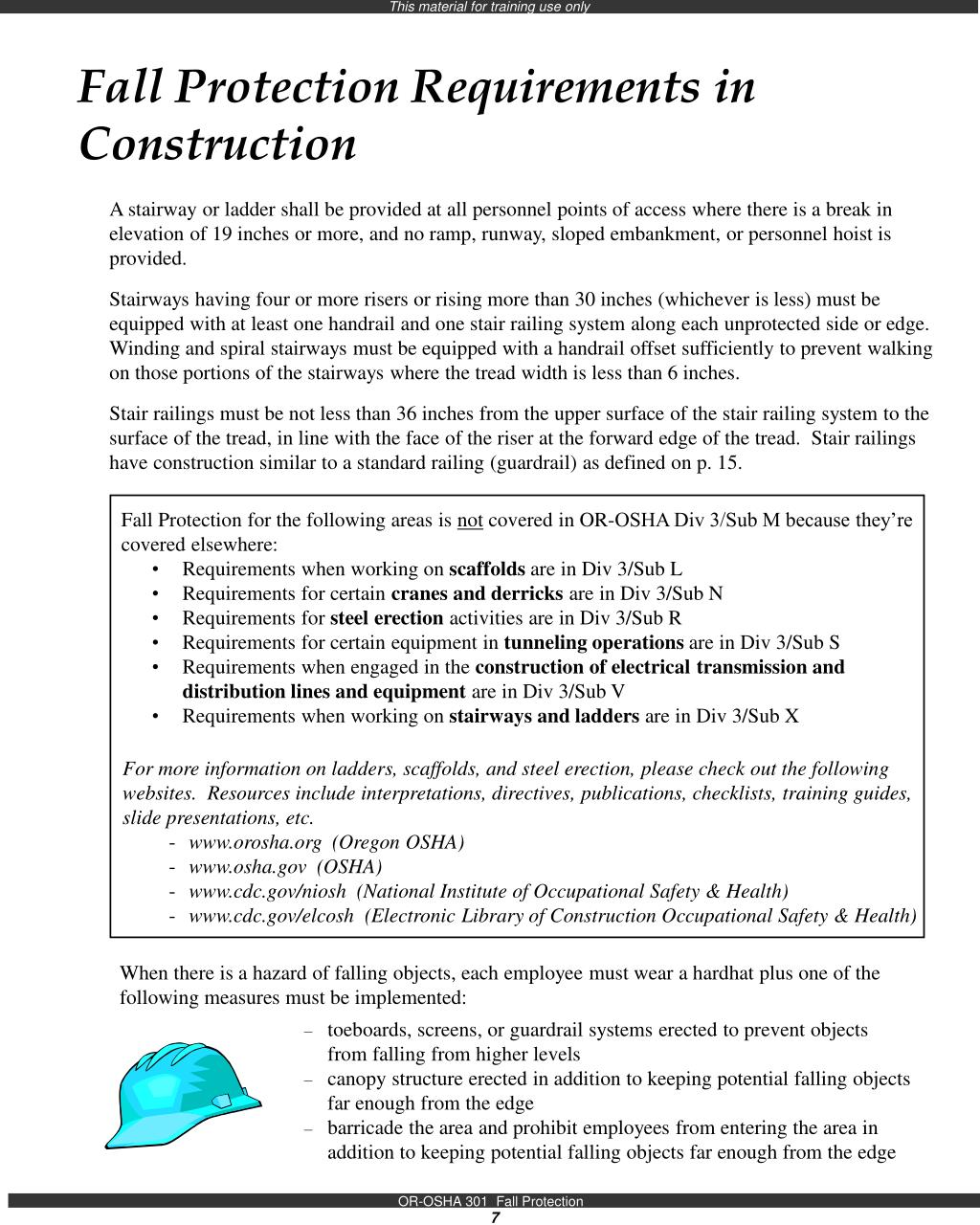 Fall Protection Requirements in Construction