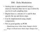 dm delta modulation