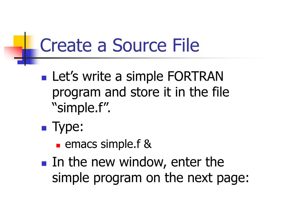 Create a Source File