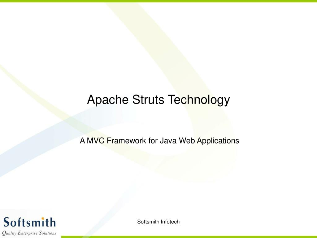 apache struts technology l.