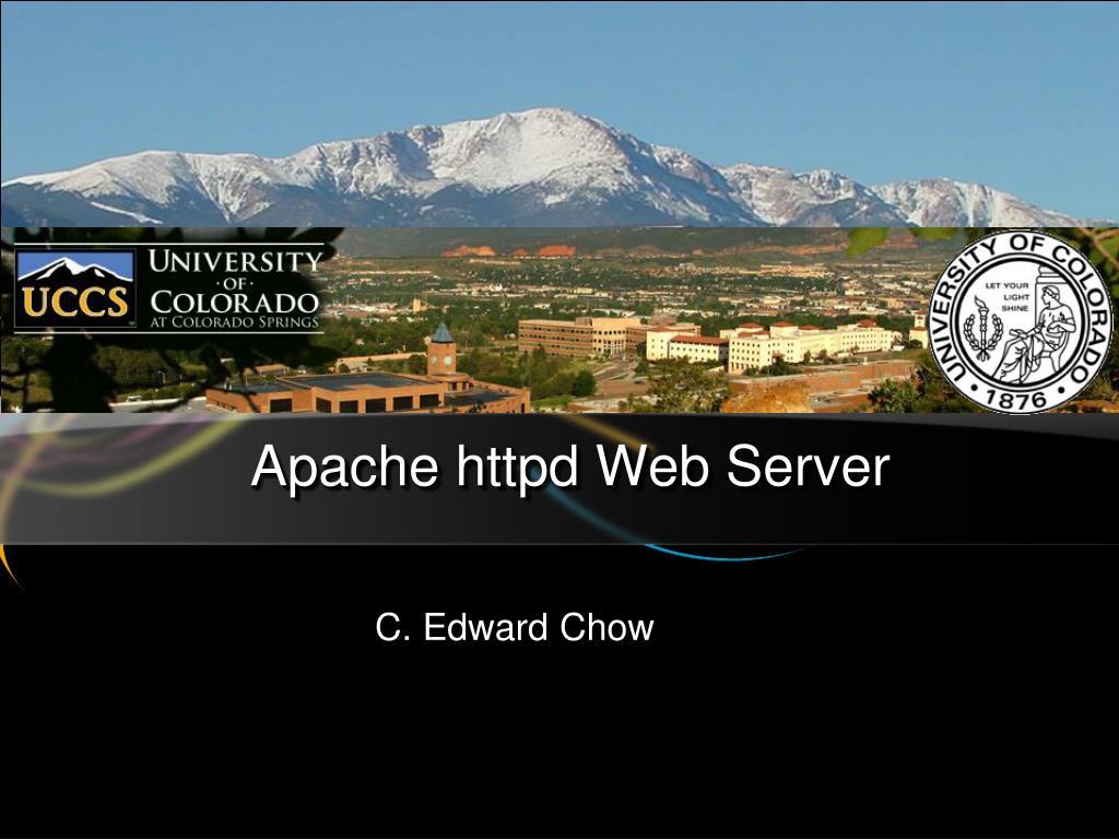apache httpd web server l.