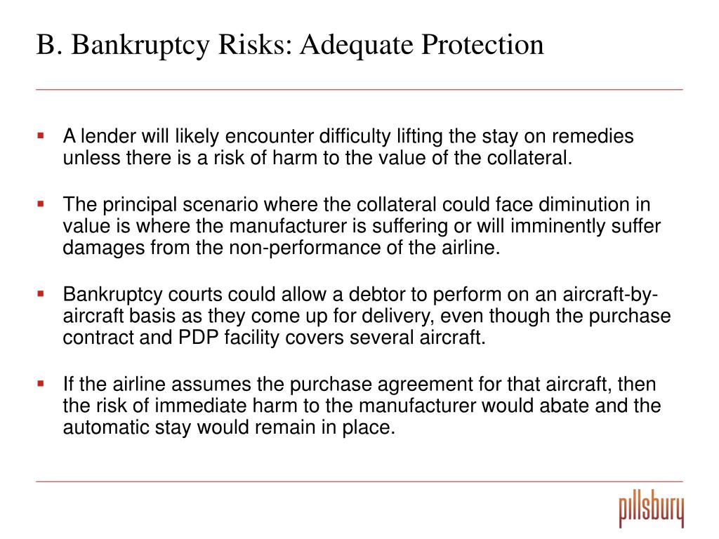 B. Bankruptcy Risks: Adequate Protection