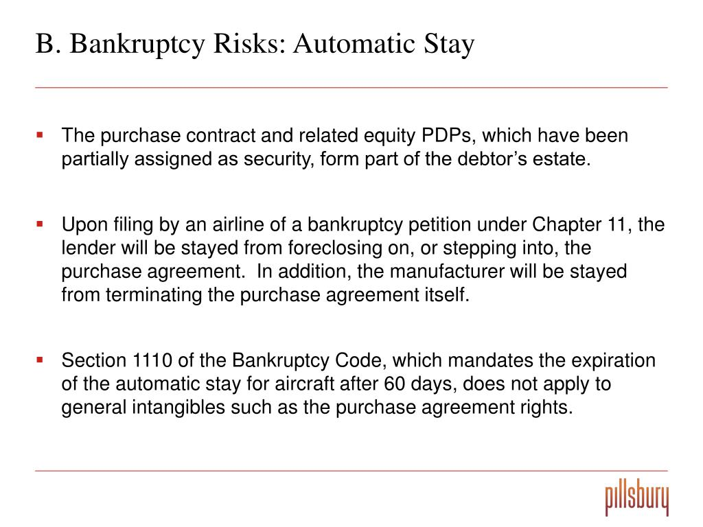 B. Bankruptcy Risks: Automatic Stay