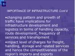 importance of infrastructure cont d7