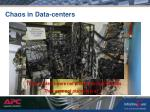 chaos in data centers