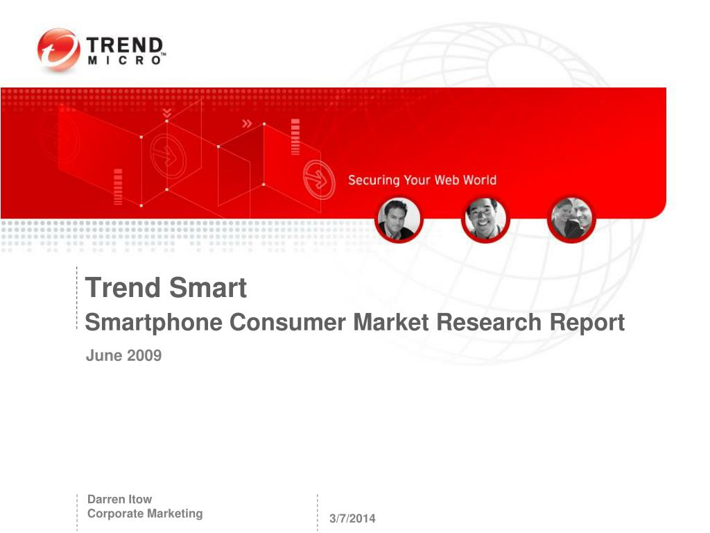 trend smart smartphone consumer market research report l.