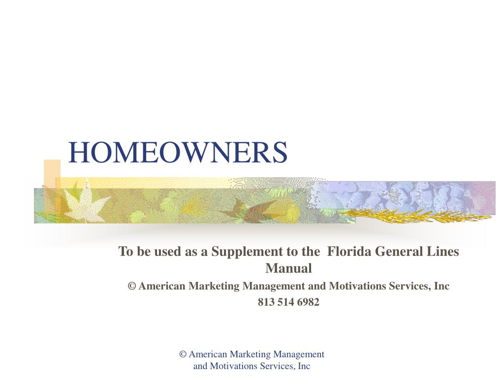 homeowners l.