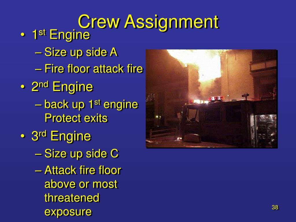 Crew Assignment