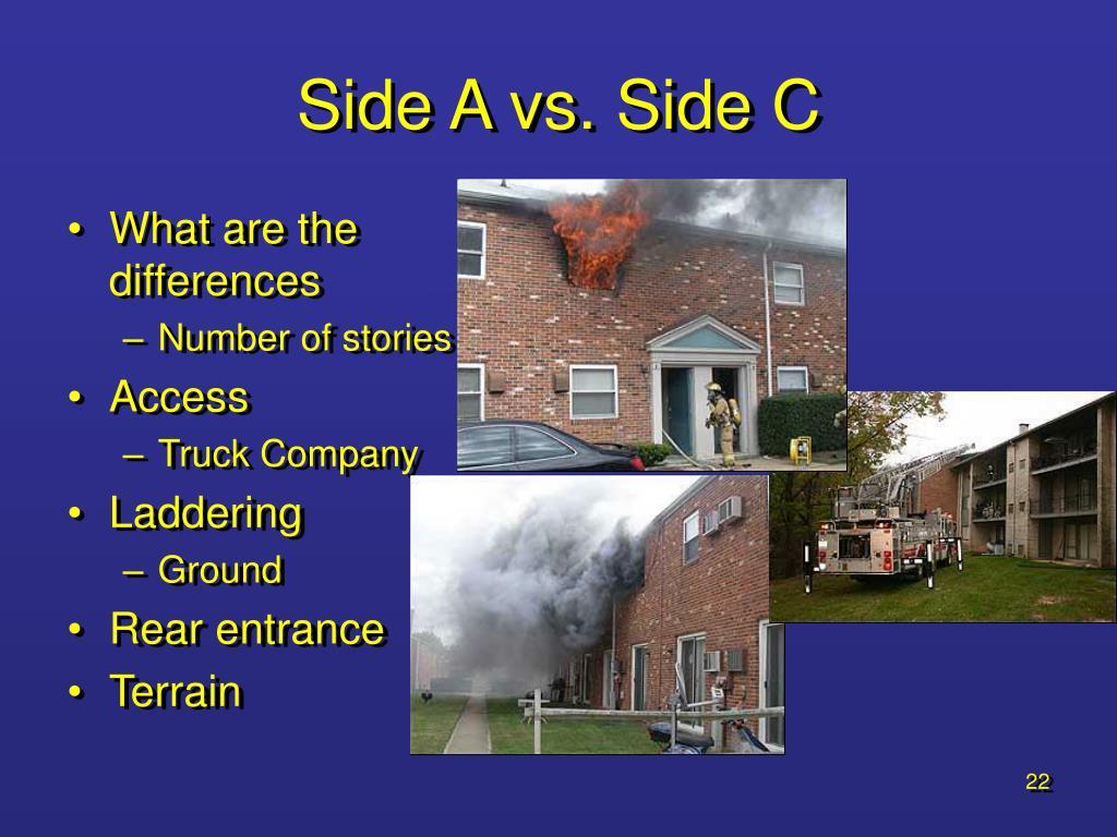 Side A vs. Side C