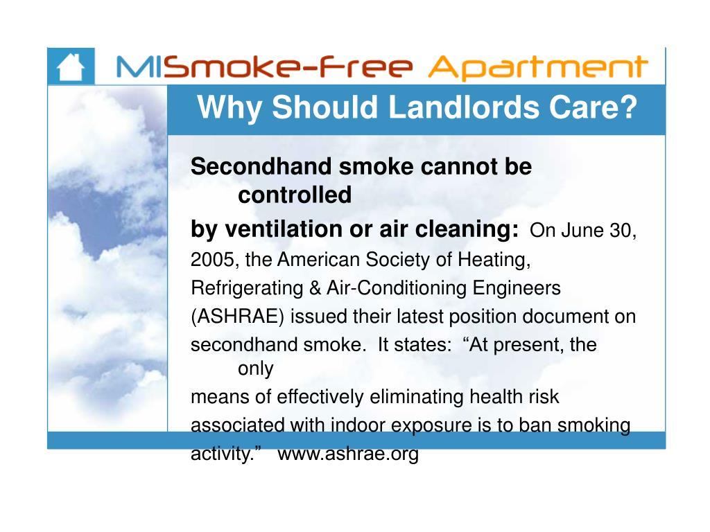 Why Should Landlords Care?