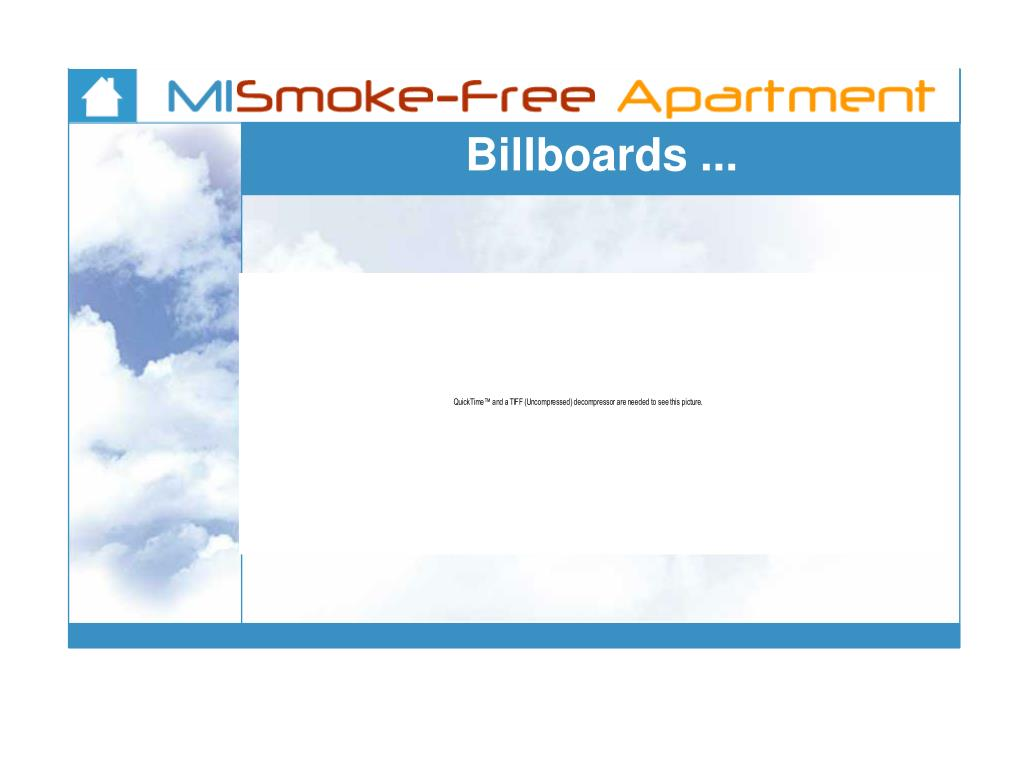 Billboards ...