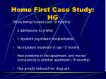 home first case study hg31