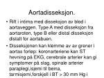 aortadisseksjon